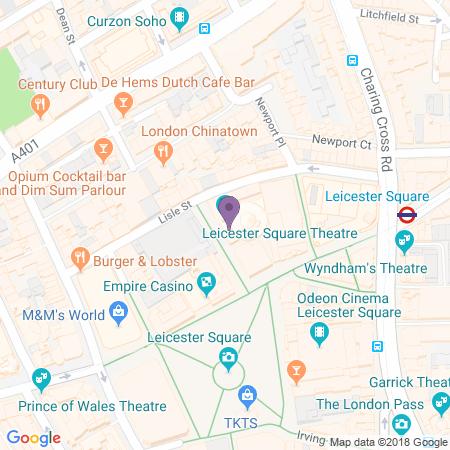 Leicester Square Theatre Beliggenhet