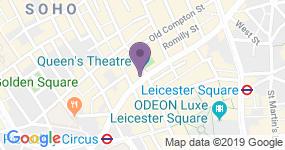Queen's Theatre - Teaterets adresse