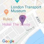 Savoy Theatre - Teaterets adresse