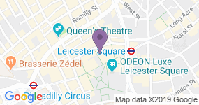 Leicester Square Theatre - Teaterets adresse