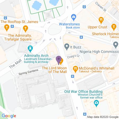 Trafalgar Theatre Beliggenhet