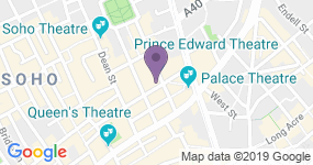 Prince Edward Theatre - Teaterets adresse