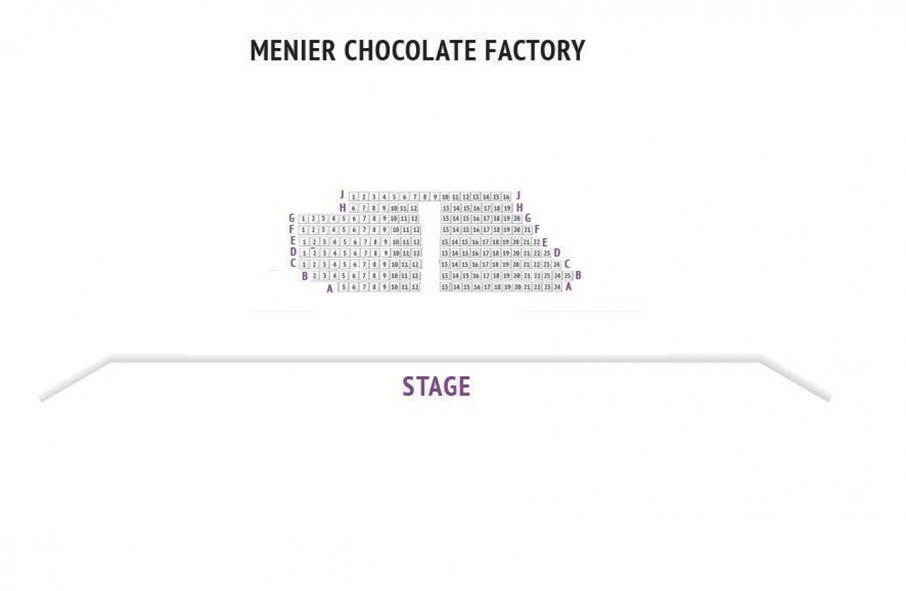 Menier Chocolate Factory seteplan